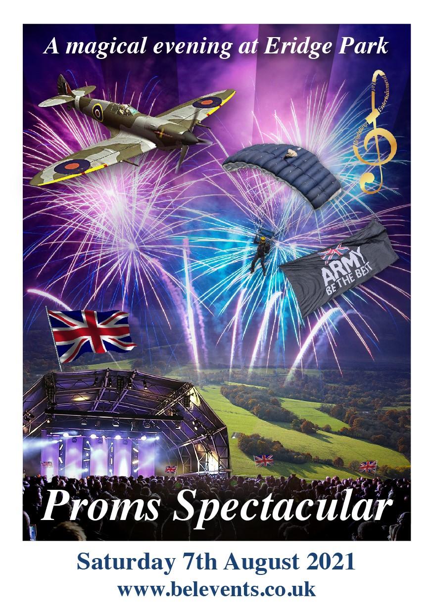 Proms Spectacular at Eridge Park Summer 2021 Picnic Concert