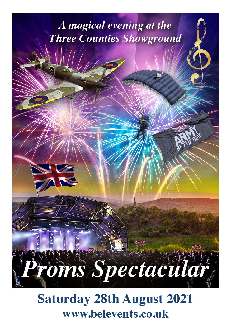 Proms Spectacular at The Three Counties Showground Summer 2021 Picnic Concert